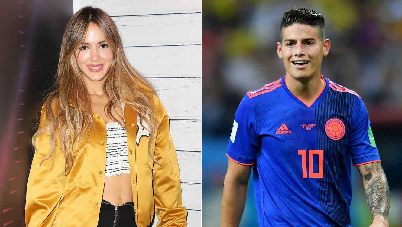 Shannon de Lima; James Rodríguez