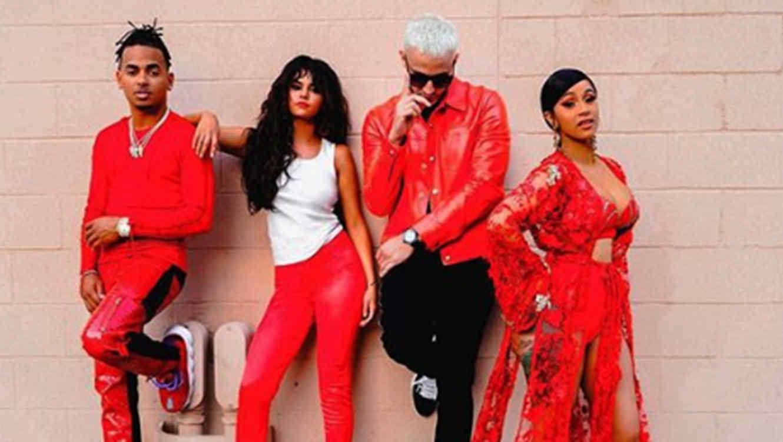 Ozuna, Selena Gomez, DJ Snake and Cardi B