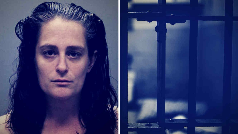 Cuando la policía fue a sacar a los niños de su casa, Melissa Hope agredió a un oficial y fue arrestada.