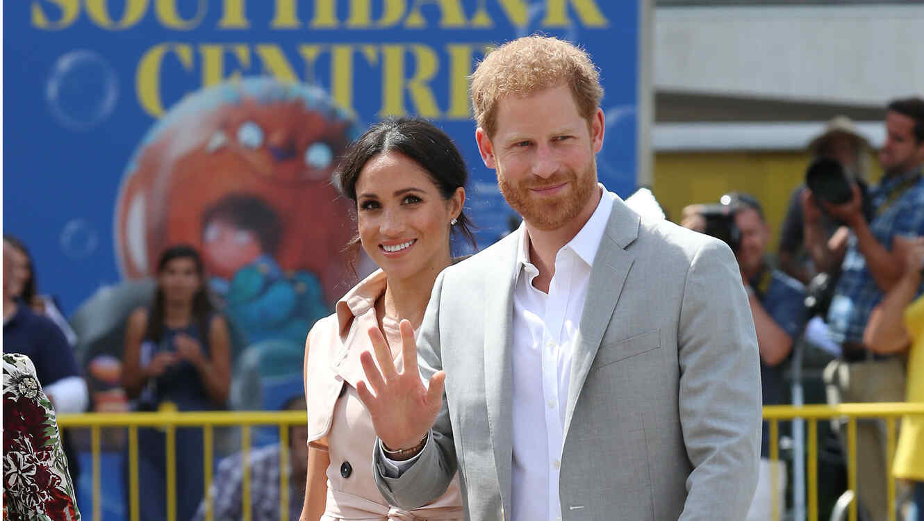 Meghan Markle y el principe Harry en Sussex