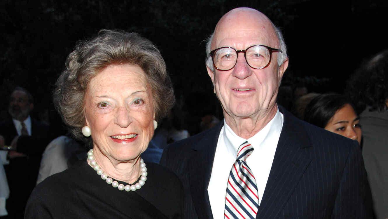 Doris Fisher y su esposo, Don