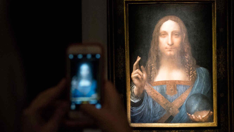 La subasta de la obra Salvator Mundi, de da Vinci, en Christie's