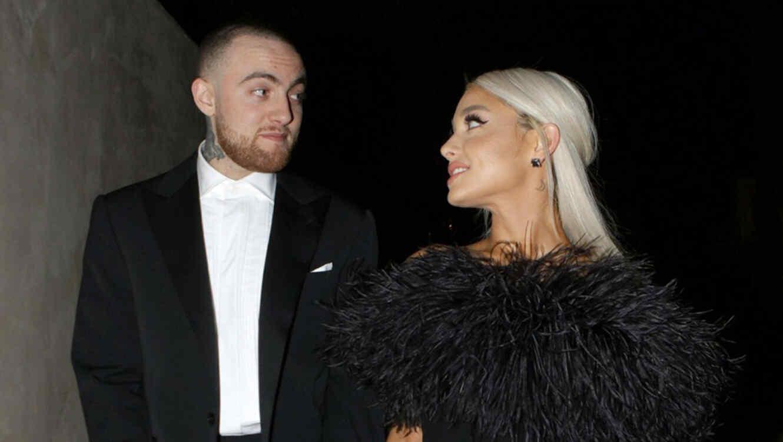Ariana Grande y Mac Miller, marzo 2018
