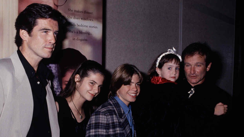El reparto de 'La Señora Doubtfire' se reencuentra 25 años después