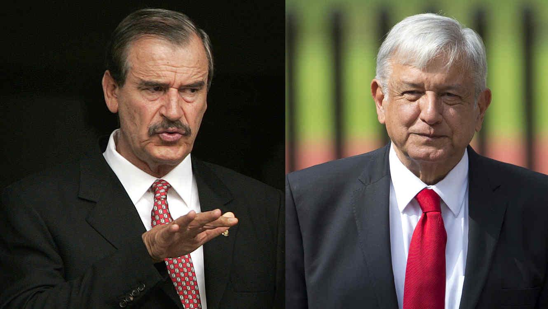 Vicente Fox, Andres Manuel López Obrador
