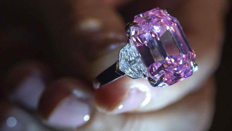 Diamante rosado vendido en $50 millones