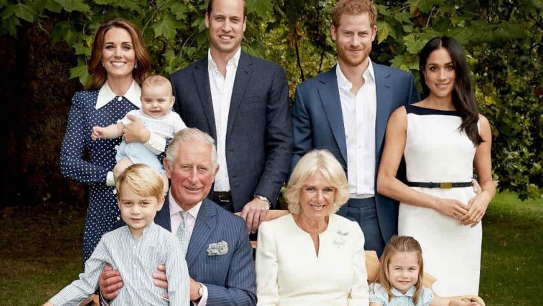 Retrato familiar del príncipe Carlos