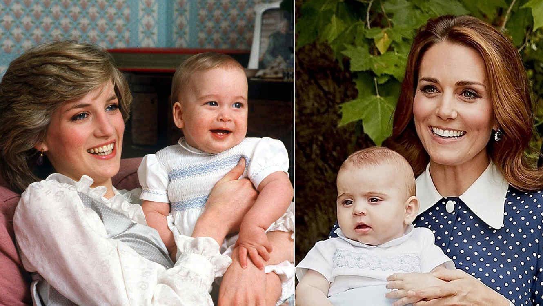 Princesa Diana y Kate Middleton collage
