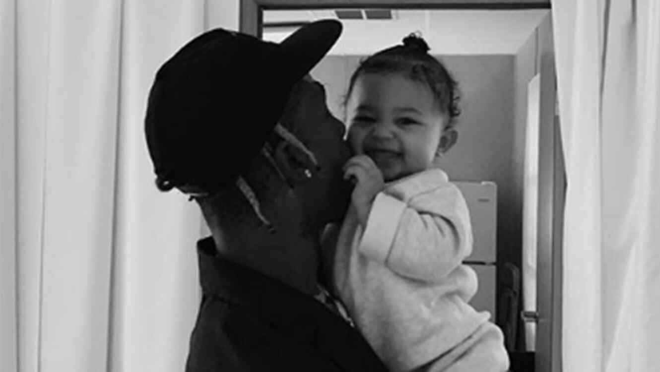 Travis Scott and Stormi