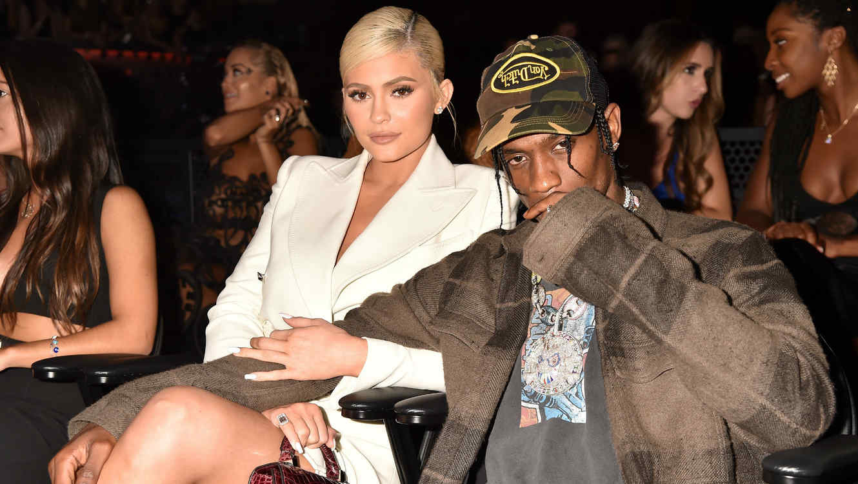 Kylie Jenner y Travis Scott, agosto de 2018