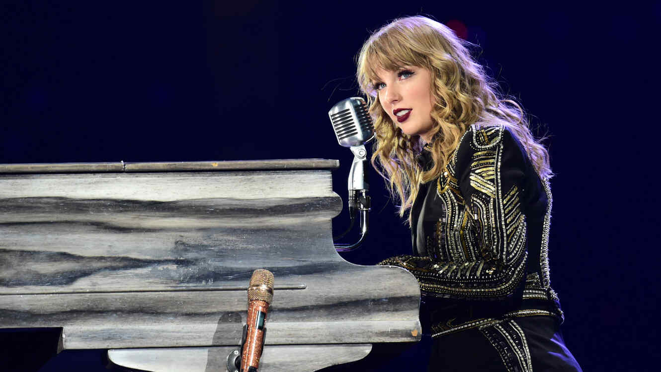 Taylor Swift en su Reputation Stadium Tour