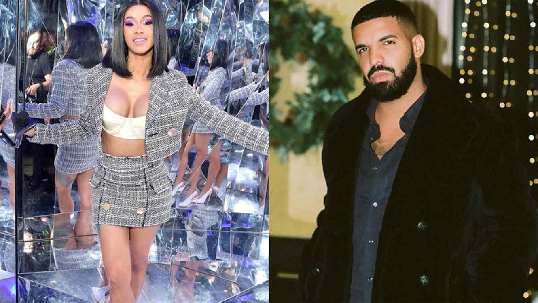 Cardi B and Drake