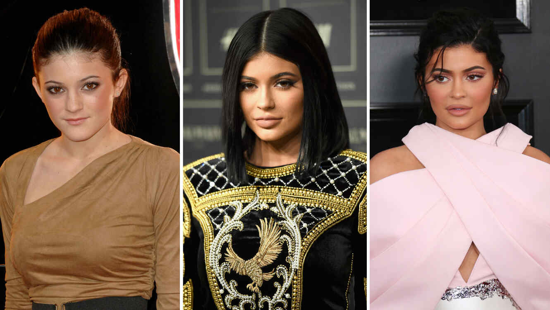 Evolución de Kylie Jenner