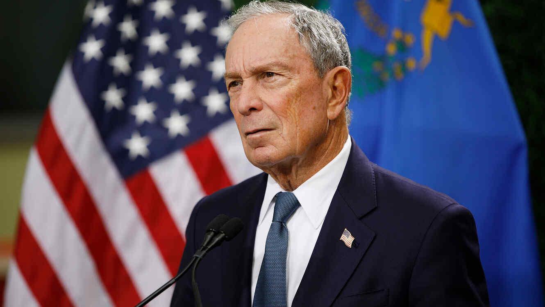 Resultado de imagen de Michael Bloomberg,