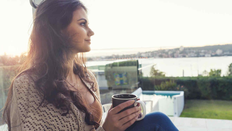 Beber té para la salud