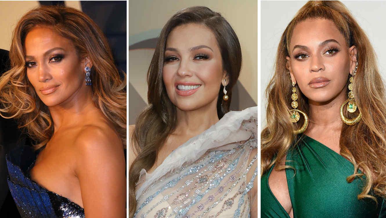 Jennifer Lopez, Thalía y Beyoncé