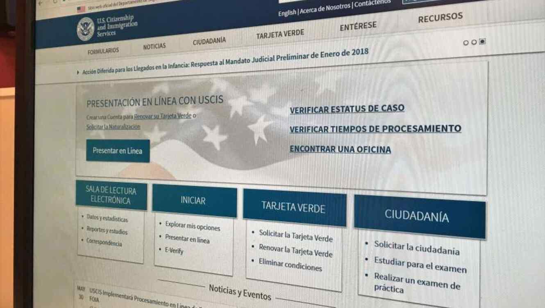 La disponibilidad de los permisos será informado en el portal de USCIS.