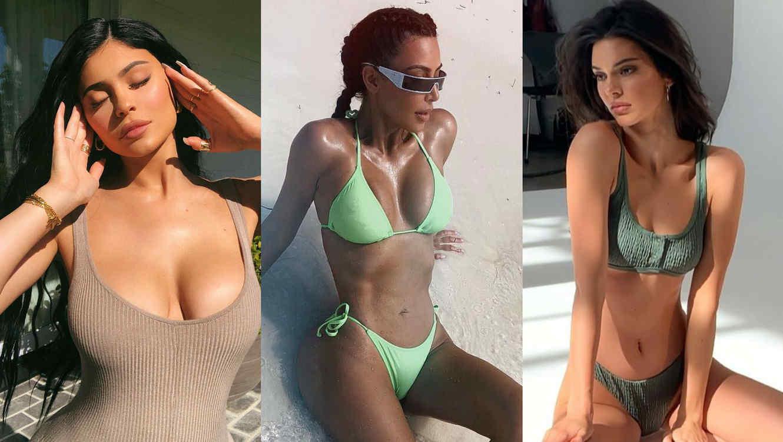 Kylie Jenner, Kim Kardashian y Kendall Jenner