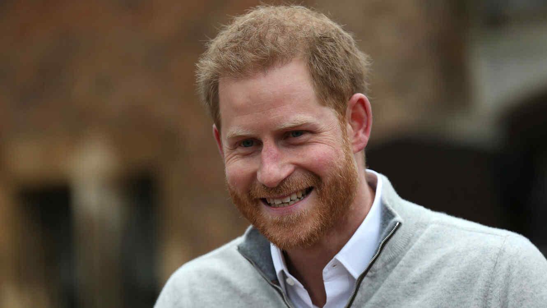 Príncipe Harry tras el nacimiento de su bebé