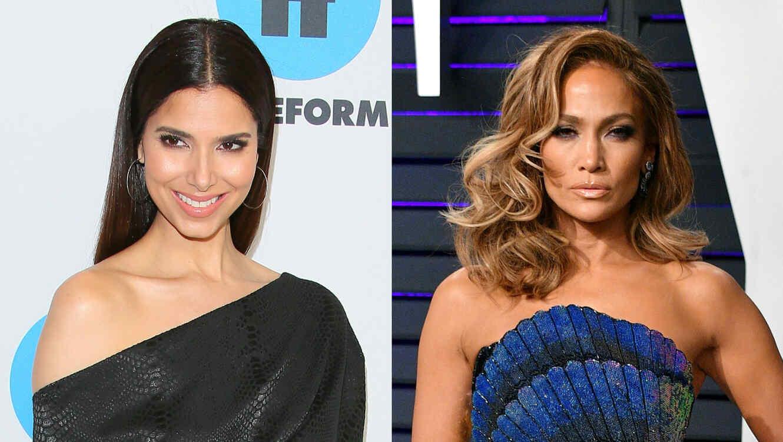 Roselyn Sánchez y Jennifer Lopez
