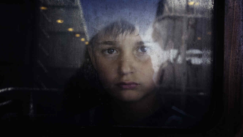 Niño con problemas emocionales