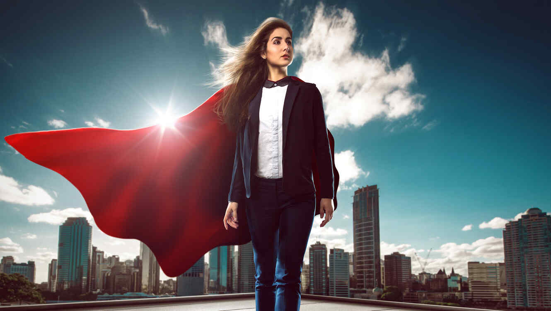 Mujer empoderada