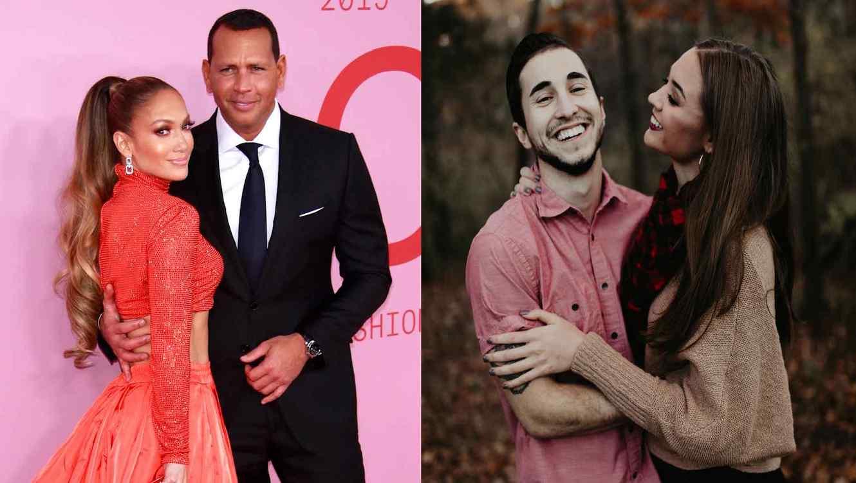Jennifer Lopez, ARod y pareja