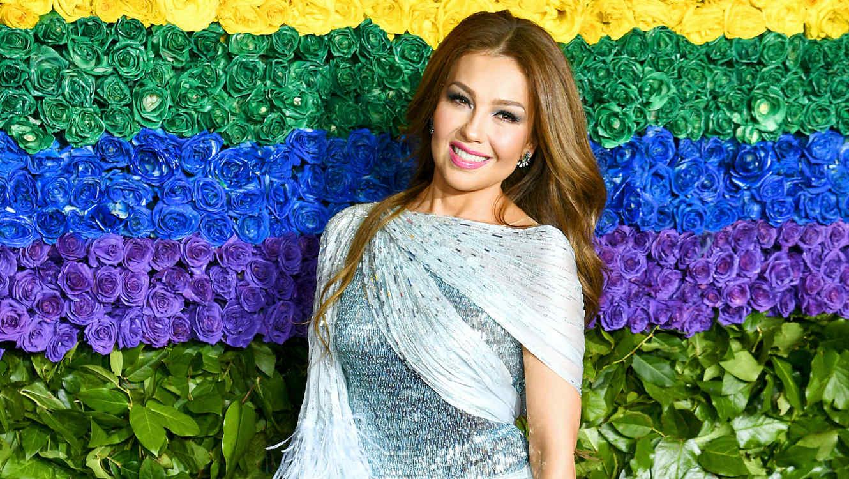 Thalía en los premios Tony 2019