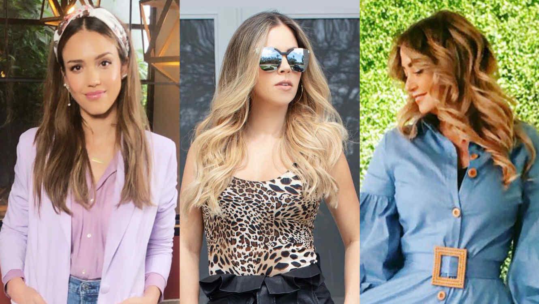 Jessica Alba, Ximena Duque y Andrea Legarreta