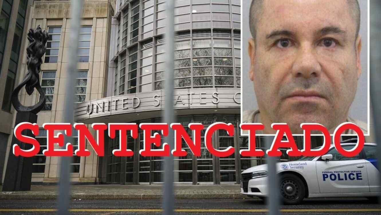 Dictan sentencia al Chapo Guzmán