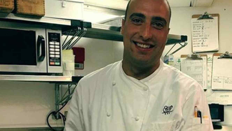 Andrea Zamperoni chef del restaurante Cipriani Dolci en el centro de Manhattan.
