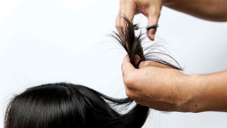 Cortan cabello