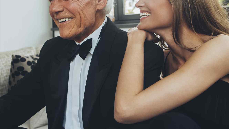 pareja diferente edad