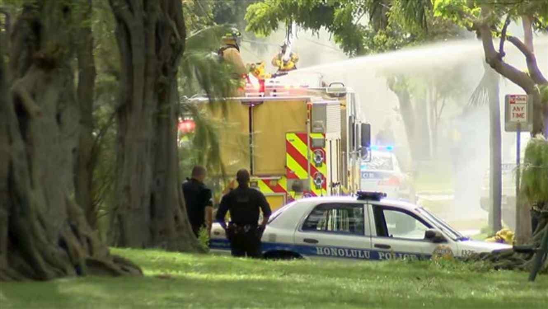 Dos policías mueren en un tiroteo en Hawái