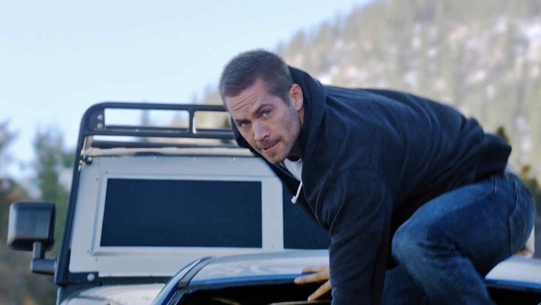 "Paul Walker en ""Furious 7""."