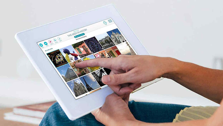 5 marcos digitales para darle un toque moderno a la decoración de tu ...