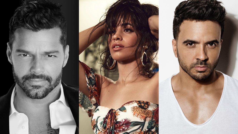 Ricky Martin, Camila Cabello y Luis Fonsi