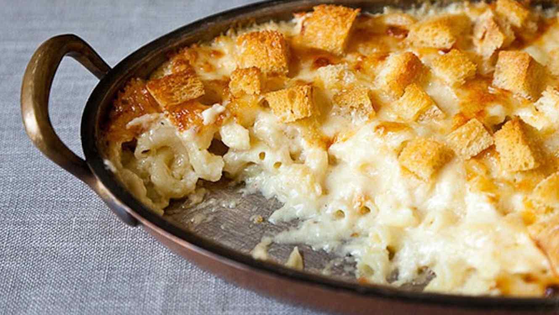 Receta de cocina fácil: macarrones con queso tradicionales ...