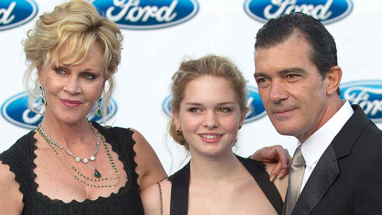 Stella Banderas, hija de Antonio Banderas y Melanie Griffith, en 2012