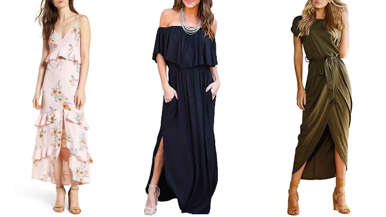 8dad42d7889 Vestidos largos de uso diario - Vestidos formales