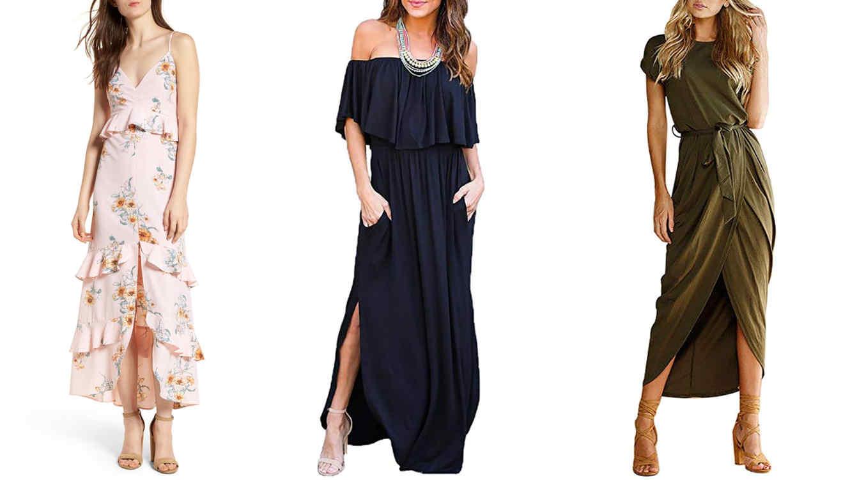 21a3890c65 10 vestidos largos para todo tipo de eventos durante el verano ...