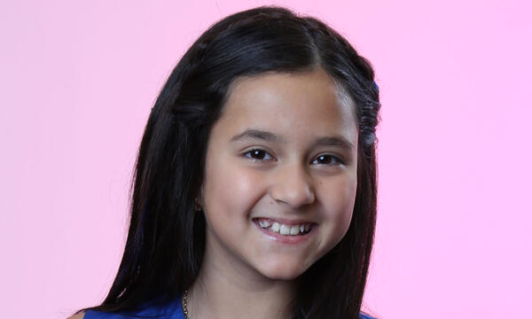 Katherine Aponte del Team Yankee en La Voz Kids