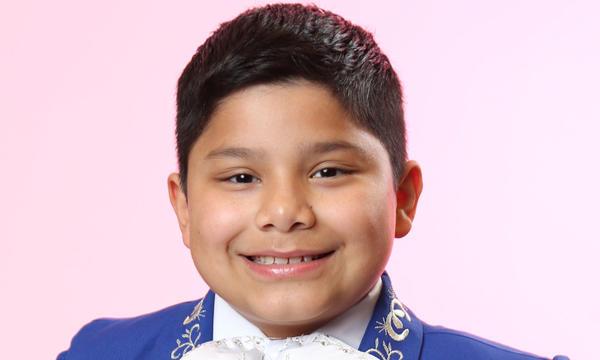 Miguel Morin del Team Yankee en La Voz Kids
