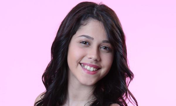 Valeria Cruz del team Yankee de La Voz Kids