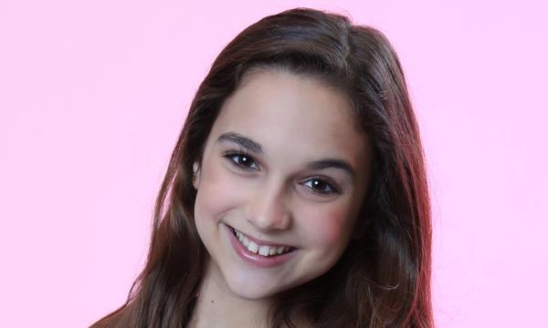 Valeria Jauregui del Team Yankee en La Voz Kids