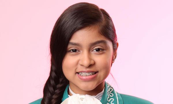 Nicole Rivera del Team Natalia de La Voz Kids