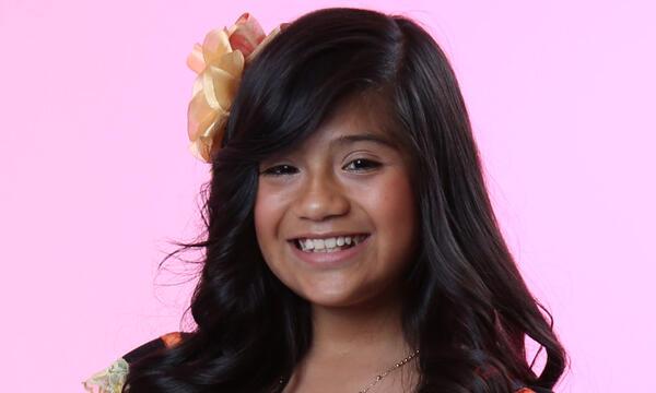 Sharon Pacheco del Team Natalia en La Voz Kids