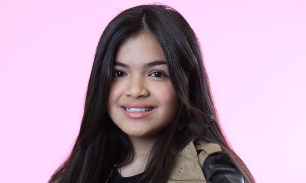 Alejandra Gallardo del Team Pedro de La Voz Kids