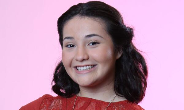 Raven Diaz del Team Pedro en La Voz Kids