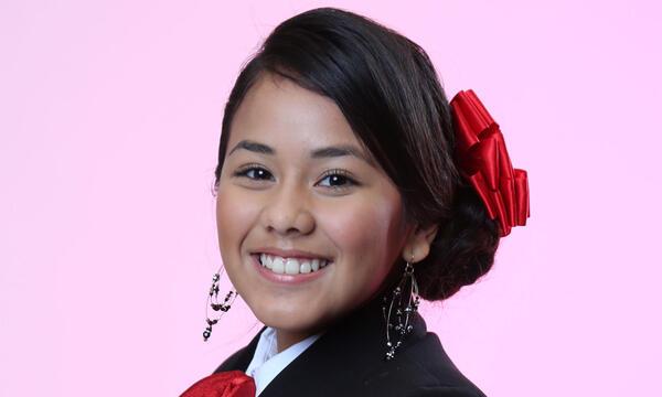 Yajahira Herrera del Team Pedro en La Voz Kids
